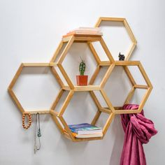 Hey, I found this really awesome Etsy listing at https://www.etsy.com/au/listing/234700045/honeycomb-shelf