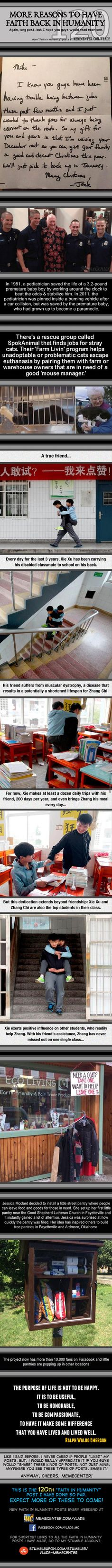 Restore My Faith in Humanity #120