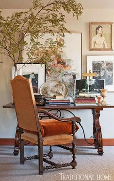 A Sturdy Desk & chair................