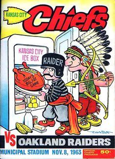 Chiefs Vs Raiders, Oakland Raiders Football, Nfl Football Players, Football Memorabilia, Football Art, Kansas City Chiefs Shirts, American Football League, Nfl History, November 8