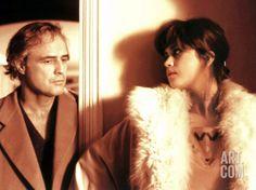 Last Tango In Paris, Marlon Brando, Maria Schneider, 1972 Premium Poster at Art.com