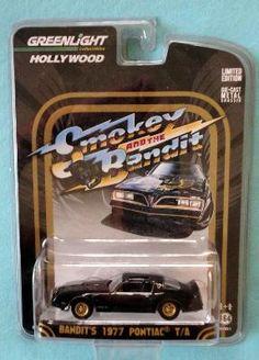 N35 Greenlight Hollywood Chrome Edition Smokey Bandit Bandit/'s 1977 Pontiac