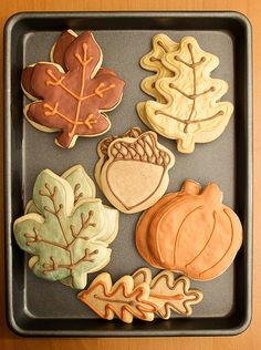 Cute fall cookies ~ so simple..
