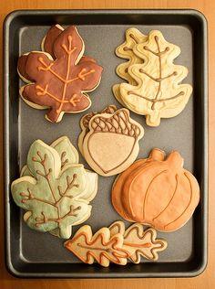 Els colors de la #tardor a les #galetes! #autum #cookies #deco #icing #otoño