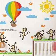 Monkey AdventuresOzsale60x90cm-SKUPVCMJ3D7121