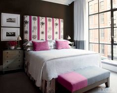 ELLE DECOR GOES TO MANHATTAN    A guest room at the Crosby Street Hotel in SoHo.