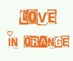 Happy Orange....