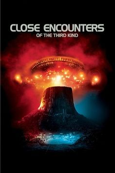 Close Encounters of the Third Kind Movie Poster. ****such a magical and uplifting film.***