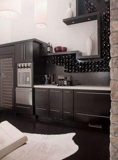 Stylish Wine Storage Ideas: Fancy Kitchen Wine Stand Design Ideas