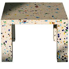 Original period Nara table by Shiro Kuramata for Memphis