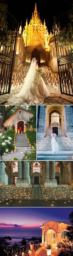 22 Utterly Romantic Candlelight Entrance Decor Ideas - magical stairways