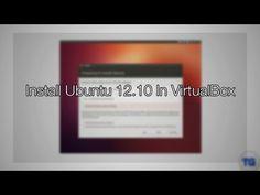 Install Ubuntu 12.10 In VirtualBox