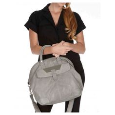 Love this gray. Plateau Tote by Allibelle