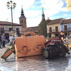 #Annoni #AnnoniBags #España #Madrid #Canon #TomBag De paseo por Europa con @losarys