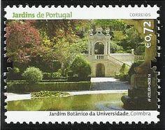 Emissão: Jardins de Portugal, 2014 Jardim Botânico da Universidade de Coimbra