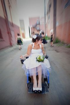 wedding dresses for people in wheelchairs