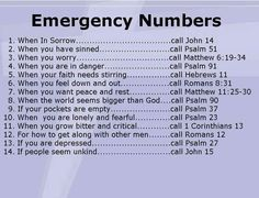 Emergency number♡✿PM