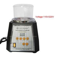 152.18$  Buy now - http://alirmf.worldwells.pw/go.php?t=32655552713 - KT-130 Magnetic Tumbler 130mm  light-ferrous metals Polisher & Finisher Super Finishing Polishing machine  152.18$