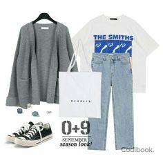 Teen Fashion Outfits, Retro Outfits, Cute Casual Outfits, Look Fashion, Hijab Fashion, Stylish Outfits, Korean Fashion, Looks Hip Hop, Mode Hijab
