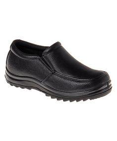 Look at this #zulilyfind! Black Slip-On Loafer #zulilyfinds
