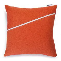Jasmin Pillow Orange 18x18 now featured on Fab. [Arne & Olaf]