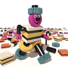 So making Bertie Bassett from liquorice allsorts Liquorice Allsorts, When You Were Young, Image Sharing, Childhood Memories, Skateboard, Retro, Gallery, Crocheting, British