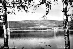 Hedmark fylke Kongsvinger kommune Brandval bru  brukt 1959. Utg.: Kunstforlaget A/S