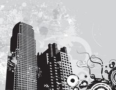 Urban Landscape - Vector Graphic by DryIcons