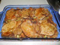 Yum... Id Pinch That! | Brown Sugar Glazed Pork Chops