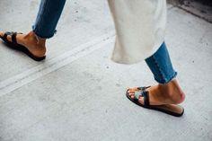 Hermès Oran Sandals Outfit by Sartreuse