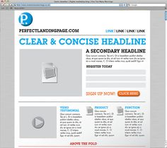 The perfect landing page [INFOGRAPHIC] by Gavin Llewellyn, via Flickr