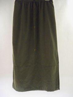 D.P.S. NEW YORK Sage Long Skirt, Sz M #DPSNEWYORK #FullSkirt