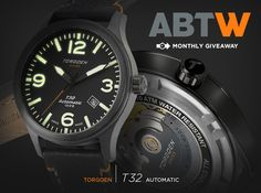 LAST CHANCE: TORGOEN T32 Automatic Watch Giveaway - enter for your chance to win now on aBlogtoWatch.com - Just a few more days this month on aBlogtoWatch to enter for a chance to win your own Torgoen T32 Automatic watch. We actually now have a full hands-on review with pictures of the this month's giveaway watch for those who'd like to know more...
