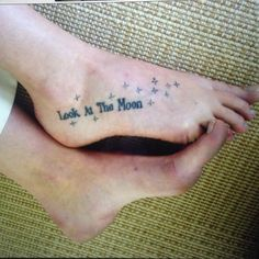Love the placement for a foot tattoo. This is what i'm going to do for my script writing tattoo..