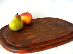 RARE Vintage Dansk Staved Cutting Board Large Solid by GSaleHunter, $69.00