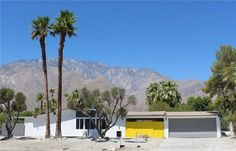 Racquet Club Road Estates, 1959 Palmer & Krisel-designed home built by the Alexander Construction Company, Palm Springs, CA Island Tour, Filming Locations, Mid Century House, Palm Springs, Mid-century Modern, Building A House, House Design, Architecture, House Styles