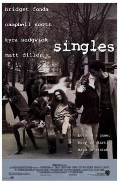 """Flannel, long hair, grunge music, Seattle – the 1992 film """"Singles"""" covered it all."""