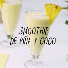 Pineapple and Coconut Smoothie Recipe - Are you passionate about the taste of pina colada? Do you want to learn how to prepare natural, nut - Smoothie Fruit, Coconut Smoothie, Smoothie Prep, Raspberry Smoothie, Healthy Smoothies, Healthy Drinks, Healthy Recipes, Green Smoothies, Breakfast Smoothies