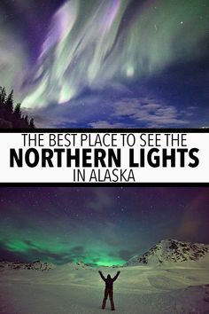 The Best Place Places To See The Northern Lights In Alaska Alaska Travel, Travel Usa, Travel Pics, Travel Articles, Alaska Northern Lights, See The Northern Lights, Travel Photography, Night Photography, Buenos Aires