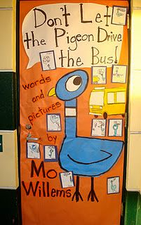 Don't Let the Pigeon Drive the Bus - door dec.