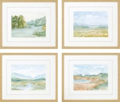 Watercolour Set of 4 Artwork. $579.99. 23W x 27H. Find affordable Wall Decor for your home that will complement the rest of your furniture.