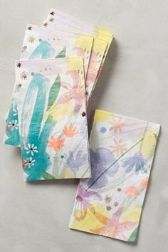 Floral Napkins: http://www.stylemepretty.com/living/2015/07/12/disposable-partyware-so-pretty-you-wont-want-to-throw-it-out/: