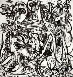 Jackson Pollock, Echo.  Art Experience NYC  www.artexperiencenyc.com/social_login/?utm_source=pinterest_medium=pins_content=pinterest_pins_campaign=pinterest_initial