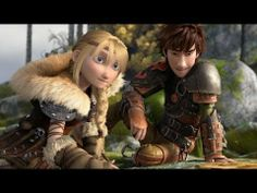 How to Train Your Dragon 2 | Hiccup and Astrid [HD] | FOX Family
