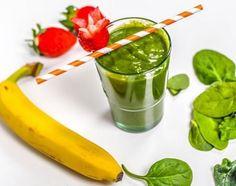 Energetyzujący zielony koktajl z supefoodsami