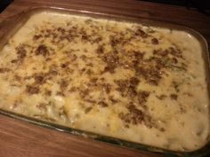 """World's Best Hashbrown Casserole! """"This is my husband's favorite dish; it's also mine. I love how simple it is to make and that there is only one dish to wash. It is definitely different, but it's well worth trying!""""  @allthecooks #recipe"""