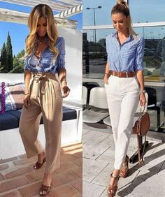 Today we will talk about the best summer work outfit ideas for 2019 year. If you want to find some great work outfit pictures and ideas. Casual Work Outfits, Professional Outfits, Mode Outfits, Classy Outfits, Chic Outfits, Fashion Outfits, Spring Outfits, Spring Outfit For Work, Work Outfits For Women
