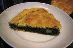 This spinach filled mpanada was another staple for Christmas Eve dinner. Along with the broccoli pie and scaciatta, these savory pies were always a big hit. Whatever we didn't finish on Chris…