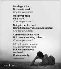 Marriage is Hard, Divorce is Hard