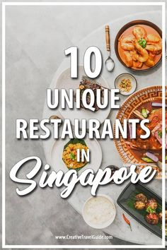 We are super fortunate to have a guest post from Ekaterina, who shares with us the 10 best and unique restaurants in Singapore.  #Singapore #SingaporePlacesToEat #SingaporeThingsToDo #Asia